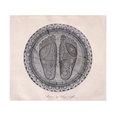 'Churan' of Sakya Singha, Nepalese, 1854 Giclee Print by Dr. Henry Ambrose Oldfield