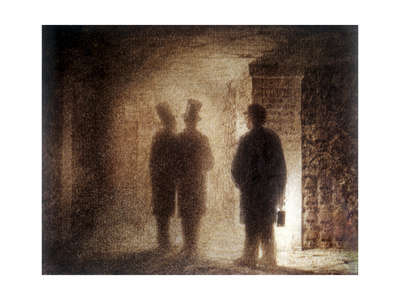 """Paris Catacombs, One of the """"Pictures at an Exhibition"""" Giclee Print by Viktor Aleksandrovich Gartman"""