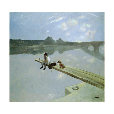 The Fisherman, 1884 Giclee Print by Jean Louis Forain
