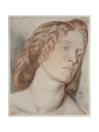 Fanny Cornforth, Study for 'Fair Rosamund', 1861 Giclee Print by Dante Gabriel Rossetti