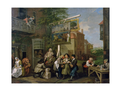 The Election II: Canvassing for Votes, 1754-55 Giclee Print by William Hogarth