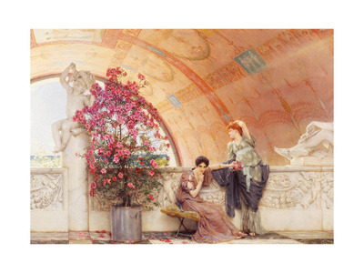 Unconscious Rivals, 1893 Giclee Print by Sir Lawrence Alma-Tadema