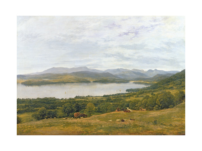 The Head of Windermere Giclee Print by John Glover