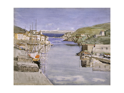 A Southern Port Giclee Print by Charles Rennie Mackintosh
