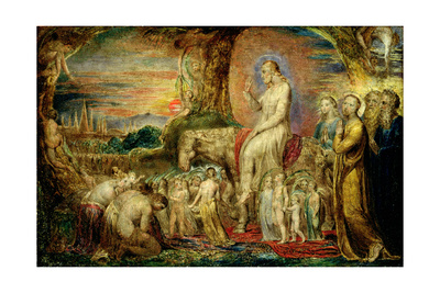 Christ's Entry into Jerusalem Giclee Print by William Blake