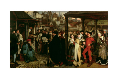 The Edict of Charles V, C.1861 Giclee Print by Jan August Hendrik Leys