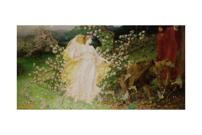 Venus and Anchises, 1889-90 Giclee Print by William Blake Richmond