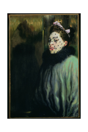 Woman in a Veil, 1891 Giclee Print by Louis Anquetin