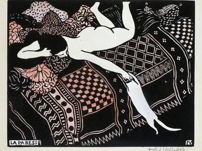 La Paresse, 1896 Giclee Print by Félix Vallotton