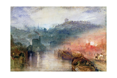 Dudley, Worcester Giclee Print by J. M. W. Turner