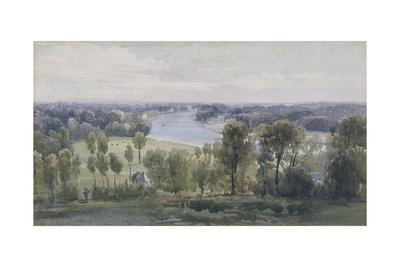 Richmond Hill, 1830 Giclee Print by Anthony Vandyke Copley Fielding