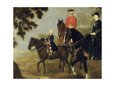 Sir George Hampton and Family, C.1738 Giclee Print by Stephen Slaughter