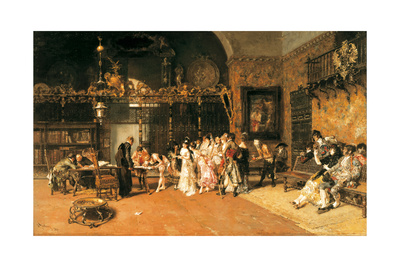 The Vicarage, 1870 Giclee Print by Mariano Fortuny y Marsal