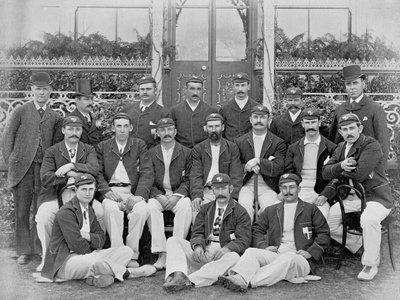 The Australians, 1893 'Eighth Team', from 'Famous Cricketers and Cricket Grounds', Published by… Photographic Print