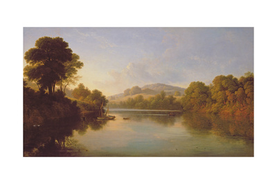 Great Barr, Staffordshire Giclee Print by John Glover