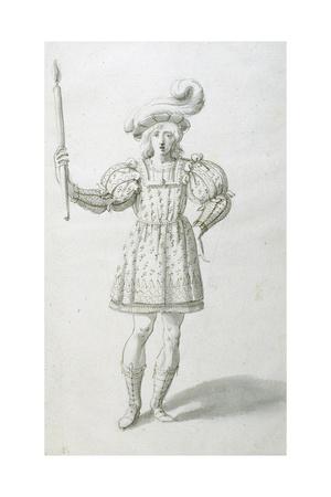 Torchbearer Giclee Print by Inigo Jones