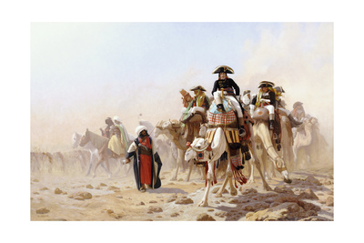 Napoleon and His General Staff Giclee Print by Jean Leon Gerome
