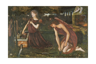 Cupid's Forge Giclee Print by Sir Edward Coley Burne-Jones