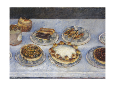 Cakes, 1881 Giclee Print by Gustave Caillebotte