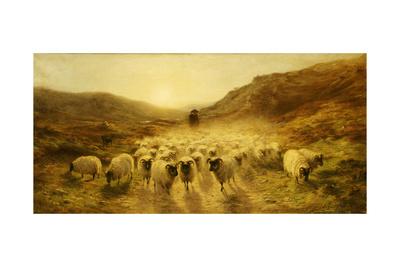 Leaving the Hills, 1874 Giclee Print by Joseph Farquharson