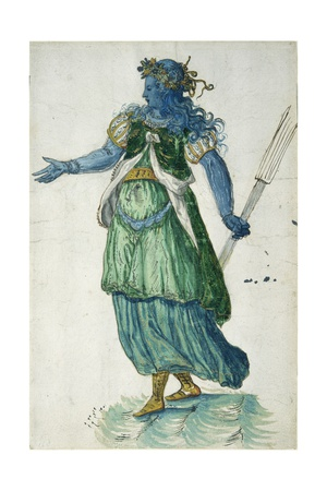 Torchbearer of Oceania, 1605 Giclee Print by Inigo Jones