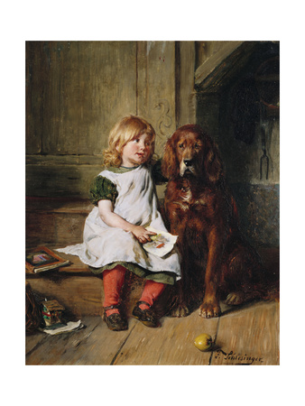 Good Companions Giclee Print by Felix Schlesinger