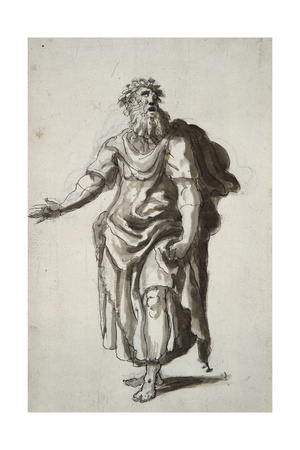 Merlin, C.1610 Giclee Print by Inigo Jones