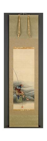 Fisherman, Edo Period, 1849 Giclee Print by Katsushika Hokusai