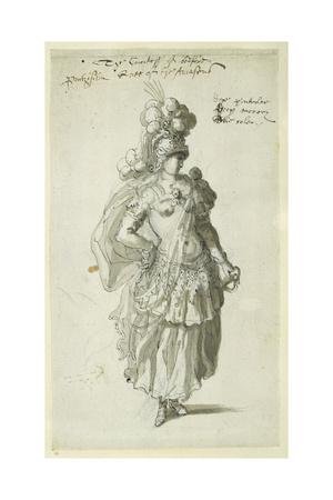 Penthesilea, C.1609 Giclee Print by Inigo Jones