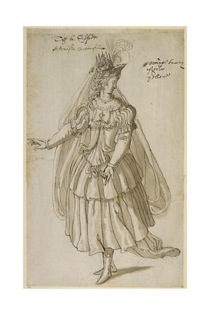 Queen Artemisia, C.1609 Giclee Print by Inigo Jones