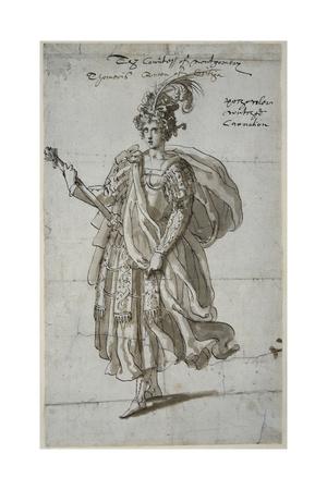 Queen Tomyris of the Massagetai, C.1609 Giclee Print by Inigo Jones