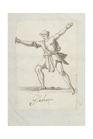Gladiator Giclee Print by Inigo Jones