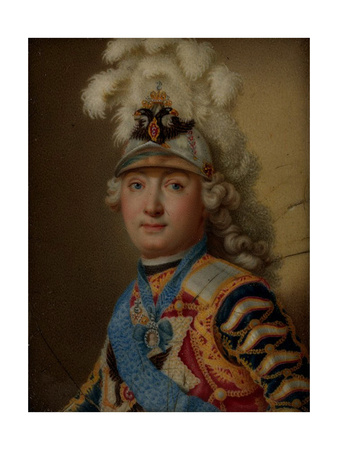 Portrait of Count Grigory Grigoryevich Orlov, C.1770 Giclee Print by Andrei Ivanovich Chernyi