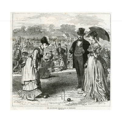 The All-England Croquet Club at Wimbledon Giclee Print
