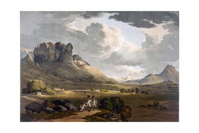 The Vale of Calaat, Ethiopia, C.1800 Giclee Print by Henry Salt