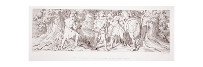 William, in His Hunting Ground at Rouen, Receives Intelligence from Tostig of Harold's… Giclee Print by Daniel Maclise