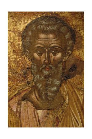 St. Kerkyra. Byzantine Fresco. 17th Century. Old Fortress Museum. Corfu. Ionian Islands. Greece Giclee Print