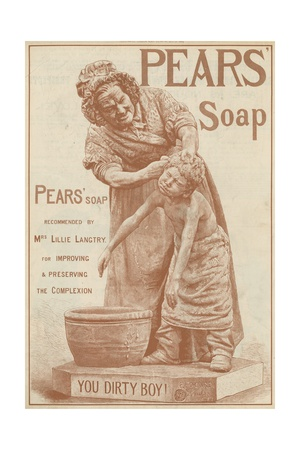 Advertisement for Pears' Soap Giclee Print