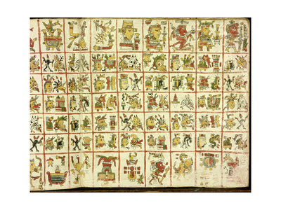 Codex Cospi - Magical Calendar Giclée-tryk
