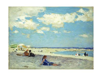 Long Beach Giclee Print by Edward Henry Potthast