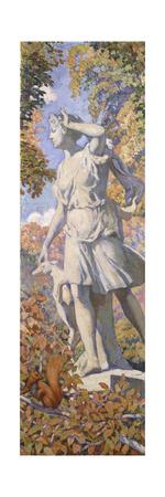 Diane, C. 1920-1924 Giclée-tryk af Théo van Rysselberghe