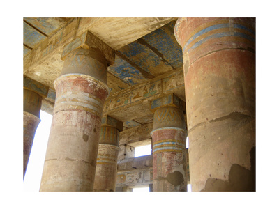 The Festival Hall of the Pharaoh Tutmosis III, Dedicated to His Own Ancestral Cult Giclee Print