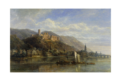 Heidelberg, 1866 Giclee Print by Pierre Justin Ouvrie