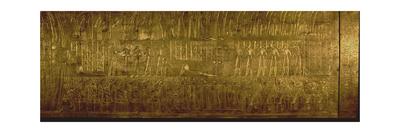 Detail of the Second Largest Shrine of Tutankhamun Giclee Print