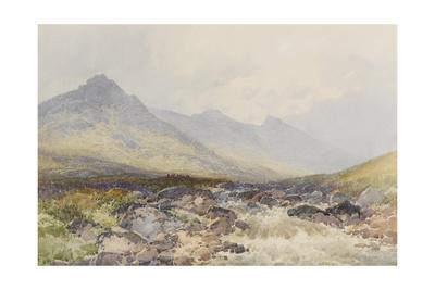 Tavy Cleave, Dartmoor , C.1895-96 Giclee Print by Frederick John Widgery