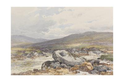 A Tolmen on the Teign , C.1895-96 Giclee Print by Frederick John Widgery