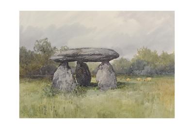 The Spinster Rock, Drewsteignton , C.1895-96 Giclee Print by Frederick John Widgery