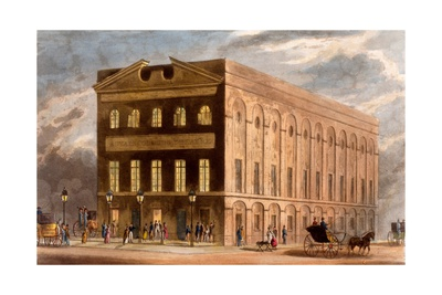 The Royal Couborg Theatre, 1826 Giclee Print by Daniel Havell