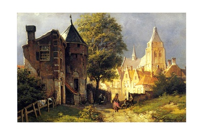 Amsterdam Giclee Print by Willem Koekkoek