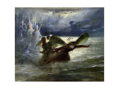 Sea Sprites, C.1870 Giclee Print by John Anster Fitzgerald